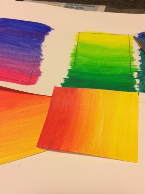 Que faire avec des dégradés de couleurs?