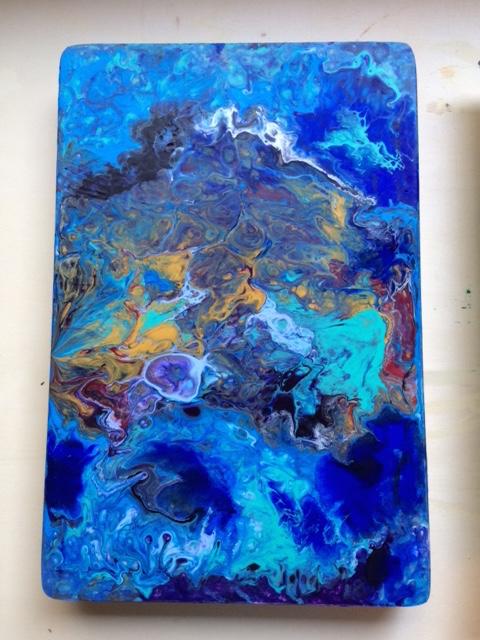Acrylique pouring.