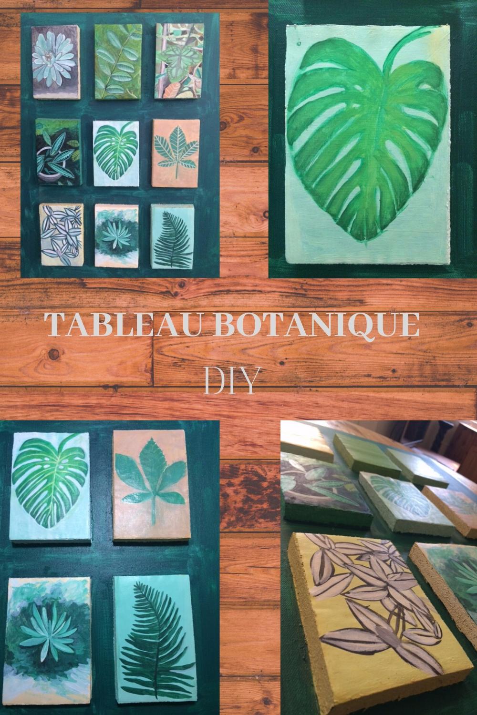 Tableau botanique.